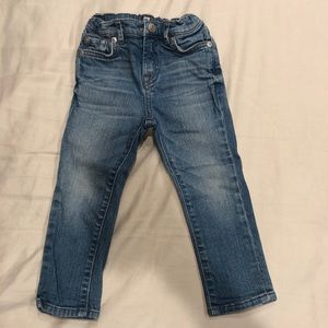 7 for all mankind toddler jeans- size 24m